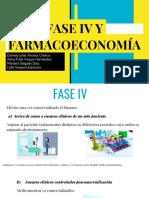 FASE IV Y FARMACOECONOMÍA