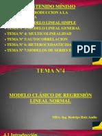 Tema Nº4 Modelo clasico de regresion lineal normal