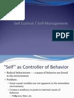 Self Management ppt