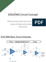 Circuit for EMG & EOG(Amri)