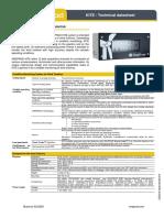 TDS3218 September 2016 B - KITE Technical datasheet EN