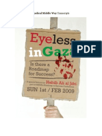 Habib Ali al-Jifri - Eyeless in Gaza