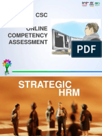 Online Competency Assessment-CSC