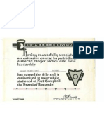 101st Recondo Diploma Winter 1964