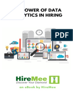 Hiring is made easy with data analytics