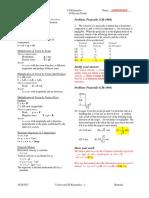 homework 2 projectile motion ans key