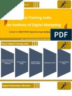 Digital Training India best Institute for Digital Marketing