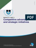 2.2competitive advantage and strategic initiatives
