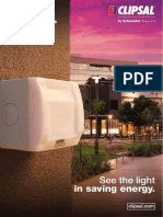CLIPSAL PHOTOCELL (SUNSET) SWITCH CATALOGUE