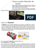 El sistema de freno auxiliar Retarder de Scania