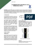 CONTROL DE TEMPERATURA CON DISPLAY LCD Y TERMOCUPLA TIPO K