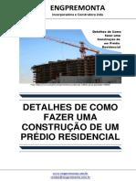 Detalhes de Como Fazer Uma Construção de Um Prédio Residencial
