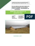 MEMORIA DESCRIPTIVA DE ARQUITECTURA-CCACHUBAMBA.docx