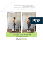 A manutenção da posição viciosa estática é um dos elementos causadores do aparecimento das dores