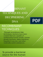 BIOTECHNOLOGY (DNA and Medical application)