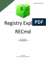 RegistryExplorerManual