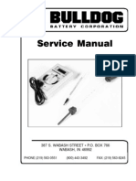 Battery Service Manual