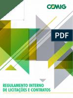 Regulamento de Licitações Empresa Pública regulamento_interno_licitacoes_contratos_cemig