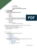 Curriculum- Software Architect