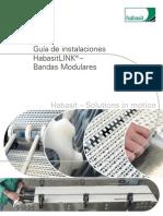 Guia de Instalacion Bandas Modulares Habasit