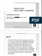 US Army Documents on Independence Day
