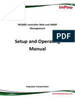 MQ48D controller Web and Snmp Management Operating Manual.pdf