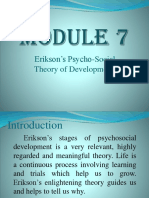 MODULE 7 Eriksons stages