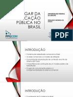 O lugar da comunicação pública no brasil