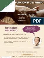 FUNCIONES DEL SIERVO - ESCUELA DE MAESTROS