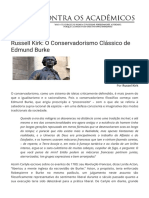 Russell Kirk_ O Conservadorismo Clássico de Edmund Burke - Contra os Acadêmicos