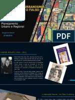 Slide - Planejamento Urbano e Regional I