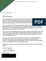 Add'l Letters filed Jan 16, 2020 re