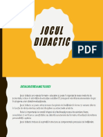 jocul didactic ppt