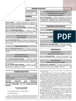 Decreto supremo N° 007-2020-PCM
