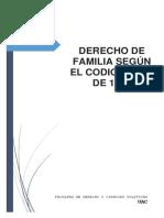 derecho de familia percy RAMIREZ