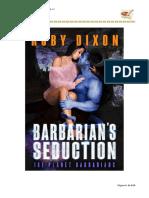 Barbarian's Seduction (Ice Planet Barbarians 17) - Ruby Dixon