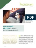 Reportaje Opiniones Falsas - IH 40