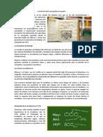 La historia de la ortografía en España