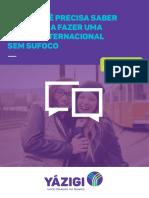 E-BOOK PARA VIAGEM INTERNACIONAL