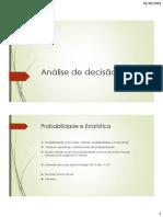 AULA 3 - Análise da decisão