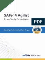 SAFe 4 Agilist Exam Study Guide (4.6)