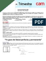 TAREAS 2DO TRIMESTRE 19-20  2DO PRIMARIA
