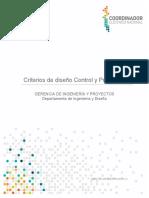 6261-01-CP-CR-001_1 Criterio de diseño CP_V2