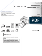Manual Camara Fujifilm s100fs Espanol