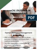 13975614 Stress Interviewsprinciples of Managementppt