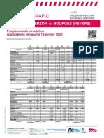 Orleans-Vierzon-bourges (Nevers) Du 19-01-2020