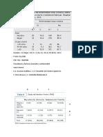 Estadística descriptiva--Tablas