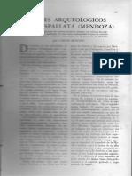 Viajes arqueológicos por Uspallata (Mendoza) / Rusconi, Carlos