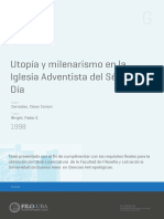César Ceriani Cernadas - Utopía y milenarismo en la Iglesia Adventista del Séptimo Día