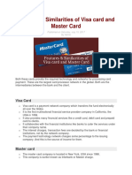 VISA AND MASTER CARDS.docx